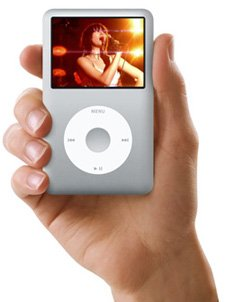 Apple iPod classic 80 GB Silver (6th Generation) (A1238) - Free Shipping!!!