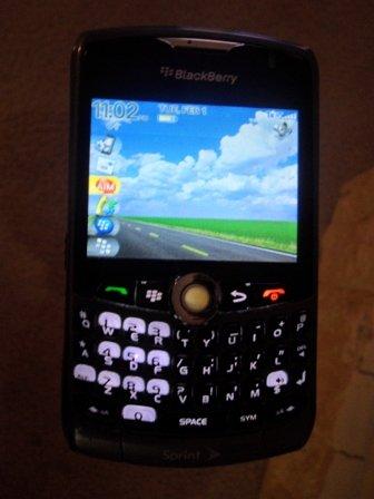 Blackberry Curve 8330 3G Camera GPS Smartphone Sprint (Black/Grey)