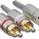 Dynex™ - 7' Y Audio Cable