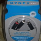 Dynex DX-AV241 - Video / audio splitter - RCA (M) - RCA (F) - FREE SHIPPING!