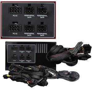 BFG Tech EX-1000 1000W 20+4-pin Modular ATX PSU w/SATA - 35% OFF