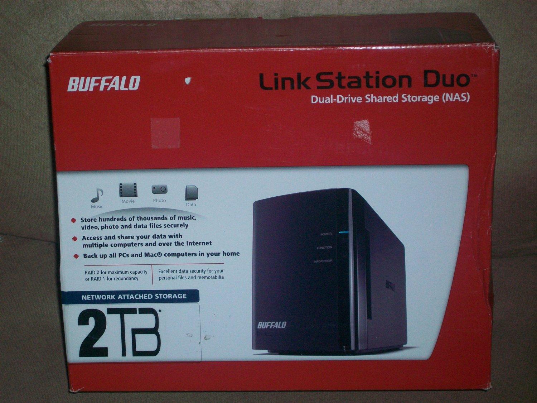Buffalo Technology LinkStation Duo 2 TB (2 x 1 TB) Network Attached Storage