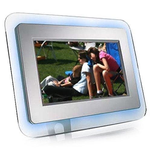 eMotion DF-EM7BL 7-Inch Ambient-Blue Digital Picture Frame