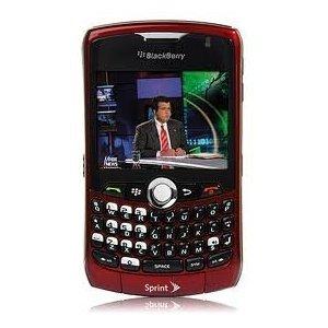 Blackberry Curve 8330 CDMA (Sprint PCS) - Red