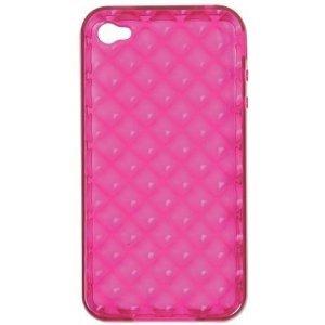 Rocketfish RF-WR1003 Pink Soft Gel Case iPhone 4