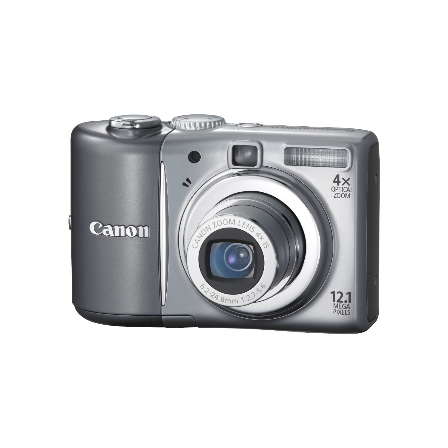 Canon PowerShot A1100IS 12.1 MP Digital Camera, 4x Optical Image Stabilized Zoom, 2.5-inch LCD