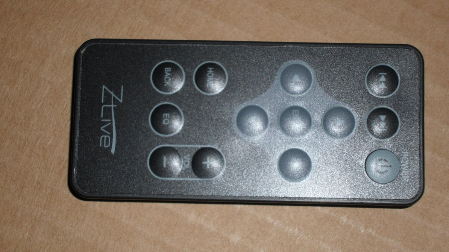 Zlive Zune Docking Station Remote Control