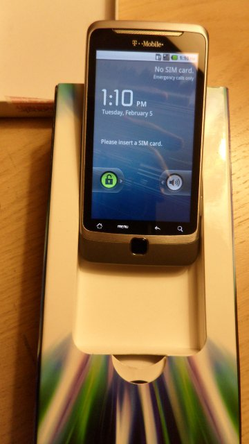 T-Mobile G2 w/Google Smartphone with 8GB SIM by HTC