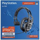 Plantronics RIG 100HS Chat Gaming Headset with Mic and Open Ear chat for PlayStation 4 (Camo)