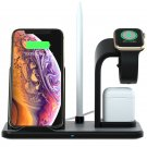 Voltstech Portable 3-in-1 Wireless Charger Fast Charging Stand for iPhone, AirPods, and iWatch