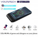 Portable Ultraviolet Phone Sterilizer Cleaner Case with Wireless Charger & USB Voltstech Charger