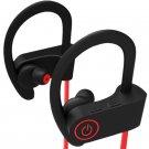Bluetooth Headphones IPX5 Waterproof Sports Earphones w/Mic 8 Hour Battery Noise Cancelling Headsets