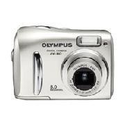 Olympus Fe-110 - 5.0 Megapixel Digital Camera With 2.8 X Optical/4x Digital Zoom