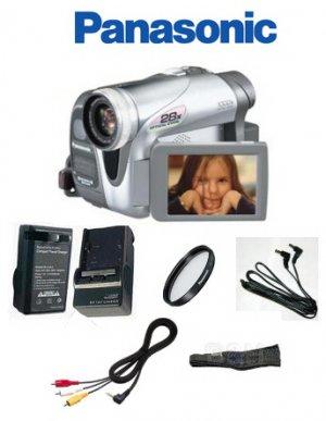Panasonic Pvgs34 Mini Dv 28x Optical-1000x Digital Zoom Camcorder Package