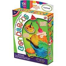 Bendaroos 100 Piece Set - Fun with Food