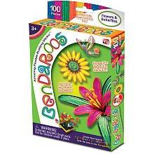 Bendaroos 100 Piece Set - Beautiful Garden