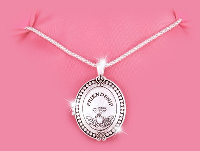 RELIGIOUS CHRISTIAN JOHN15:13-14 OVAL FRIENDSHIP LOCKET NECKLACE