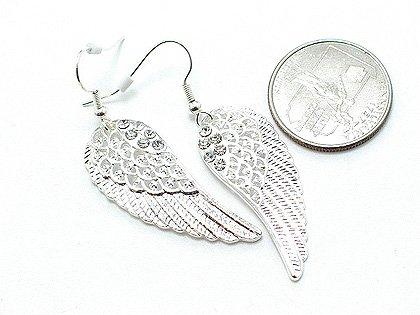 URBAN GUARDIAN ANGEL ANGELS WING WINGS EARRINGS