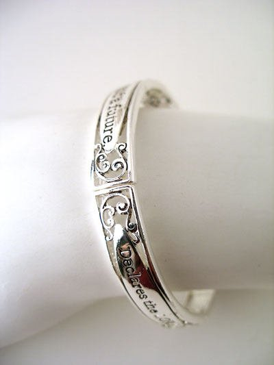 RELIGIOUS JEREMIAH 29:11 DECLARES THE LORD GOD WORD INSPIRATIONAL BRACELET