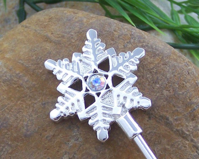 SNOW FLAKE SNOWFLAKE CRYSTAL PURSE HOOK HANDBAG HOLDER