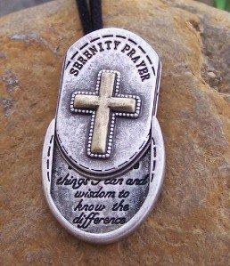 RELIGIOUS SERENITY PRAYER ALCOHOLICS ANONYMOUS AA SET