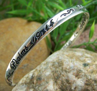 NEW RELIGIOUS PSALMS 19:14 CHRISTIAN QUOTE BRACELET
