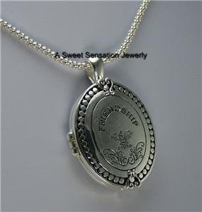 RELIGIOUS FRIEND CHRISTIAN JOHN 15 LOCKET NECKLACE