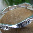 NEW RELIGIOUS BEGIN EACH DAY WITH GOD BANGLE BRACELET