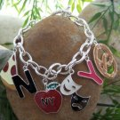 NEW YORK NY BIG APPLE PHANTOM OF THE OPERA BRACELET