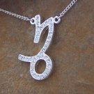 NEW ZODIAC CAPRICORN GOAT ASTROLOGY HOROSCOPE NECKLACE