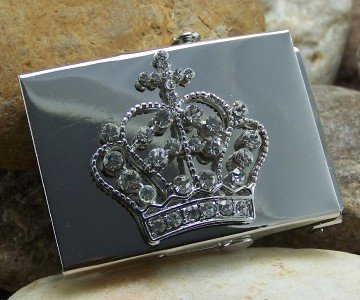 NEW MEN WOMEN UNISEX CROSS  CROWN BELT BUCKLE