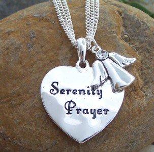 SERENITY PRAYER ALCOHOLICS ANONYMOUS AA RECOVERY SET