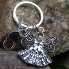 NEW RELIGIOUS CHRISTIAN GUARDIAN ANGEL CRYSTAL KEYCHAIN