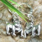 NEW BULLDOG BULL DOG LOVER VET BULLDOGS ANIMAL EARRINGS