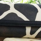 NEW BROWN BLACK WESTERN LEATHER STYLE GIRAFFE WALLET