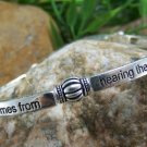 NEW RELIGIOUS CHRISTIAN ROMANS 10:17 FAITH BRACELET