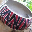 NEW RED BLACK  ANIMAL PRINT BANGLE