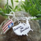 NEW AMERICA THE BEAUTIFUL USA UNITED STATES BRACELET