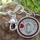 NEW FOOTBALL FOOT BALL FAN SPORTS KEY KEYCHAIN