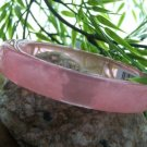 NEW TRENDY CHIC PINK BANGLE BRACELET