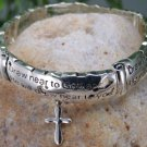 NEW RELIGIOUS JAMES 4:8 CROSS DRAW NEAR TO GOD BRACELET