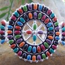 NEW WESTERN MULTICOLOR SOUTHWEST BANGLE BRACELET