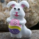 NEW EASTER BUNNY RABBIT ANIMAL KEY KEYCHAIN FINDER