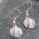 NEW SOFT BASE BALL SPORTS FAN TEAM PLAYER EARRINGS