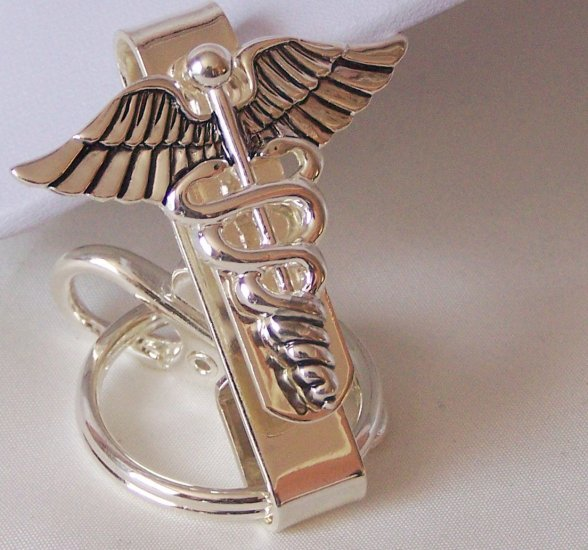 Medical Nurse CNA RN LPN Hospice Keychain Finder