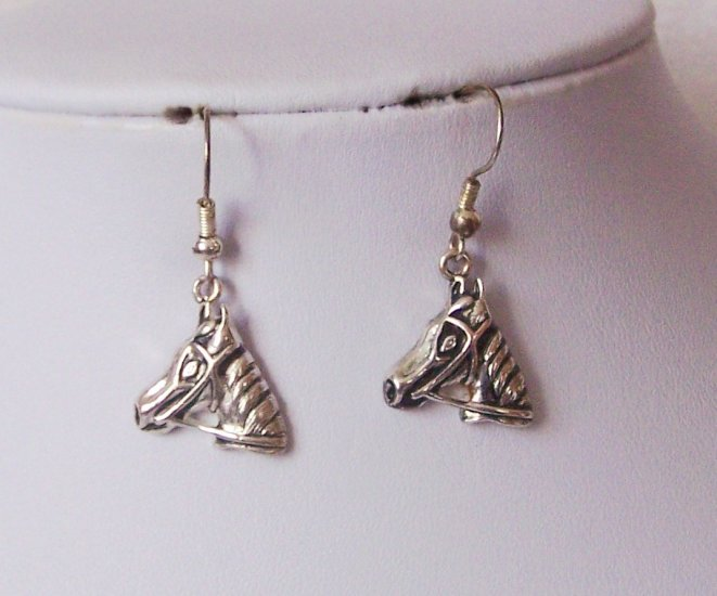 Western Horse Pony Mustang Earrings