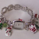 Christmas Santa Claus Frosty Snow man Snowman Tree Watch Bracelet