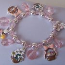Easter Basket Good Friday Bunny Rabbit Bracelet