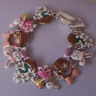 Easter Basket Good Friday Lilies Bunny Rabbit Bracelet
