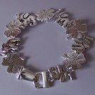 Elephant Clover Shamrock Rock Good Luck Bracelet